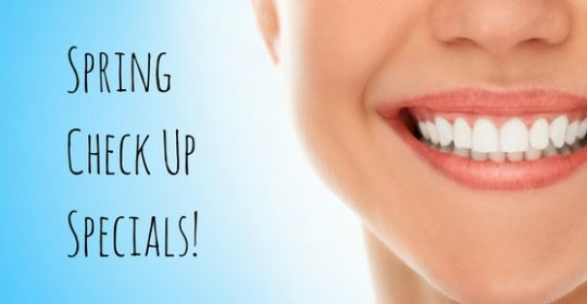 Spring Specials – Dental Check Up Deals for Kids and Adults