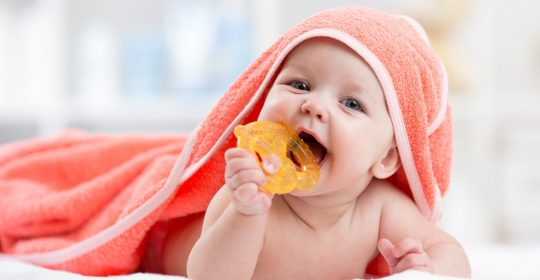 Teething Tips for Baby's Buds